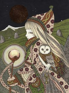 «The Hermit» de Anita Inverarity   Redbubble