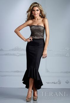 Evening DressesParty Dresses by Terani2084Classic Inspiration! FOUND AT #MARISABOUTIQUE