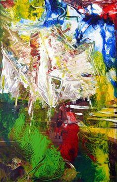 "Saatchi Art Artist Igor Eugen Prokop; Painting, ""IMPRESSION FROM AUSTRALIA.SIDNEY OPERA HOUSE."" #art"