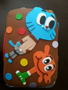 Amazing world of gumball cake