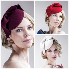 Burgundy - Red - Off White -  Fascinator on a Headband - Easy to Wear - Head Piece - Bow Hair Piece - Royal Ascot - All Year Round Hats - Christmas Party Accessories