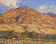 Hogback Mountain<br />11x14<br />Spencer Studio