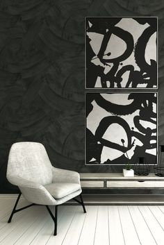 Image result for black and white graffiti word on canvas