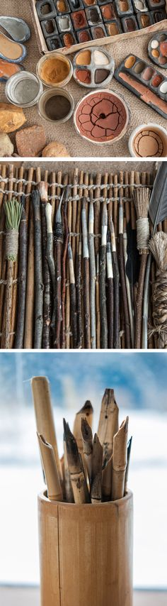 The Organic Artist- everything you need to know on how to make your own art supplies from nature.