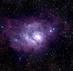 The Lagoon Nebula, Messier object 8 (M8) or NGC6523, in the constellation of Sagittarius.
