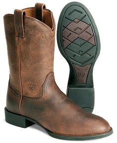 Ariat Heritage Roper | Boots | Pinterest | Western boots, Boots ...