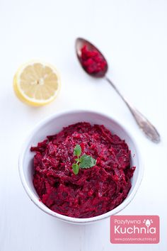 Buraczki zasmażane Polish Recipes, Polish Food, Beets, Side Dishes, Cooking Recipes, Dining, Food Food, Poland, Drinks