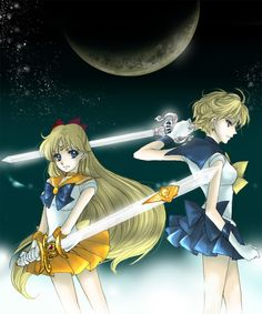守護神 Guardians of Love and War - Sailor Venus and Sailor Uranus