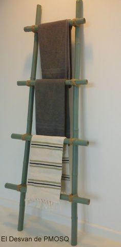Escaleras decorativas en pinterest escaleras de bamb - Escalera de bambu ...