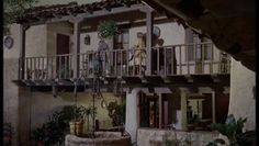 have seriously ALWAYS wanted the house in california in the ORIGINAL parent trap...the hacienda style with an interior courtyard and MIDCENTURY decorations