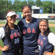 Three Sooner Softball players will join Team USA this summer! Congrats Lauren Chamberlain, Keilani Ricketts and Destinee Martinez! #ousoftball #teamusa #boomersooner