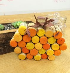 This DIY wine cork pumpkin is fast, easy, affordable, and super cute. Here are step-by-step instructions so you can make your own!