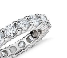 Classic Diamond Eternity Ring in Platinum (4 ct. tw)