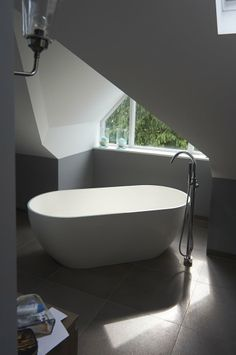 West London House, London #bathroom #bath #freestanding