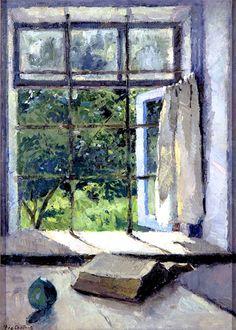 Summer as Seen Through a Moldavian Window, Fyodor Smirnov,  1955