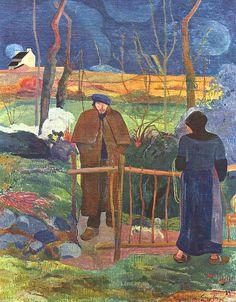 AF PG 1889 Guten Morgen Herr Gauguin 3c - Prag Narodni Galerie - meisterwerke   Flickr - Photo Sharing!