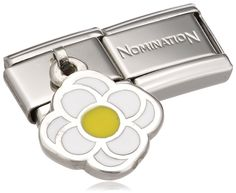 Nomination Composable Women's Bead Classic Charms 925 Silver Flower IGsdw0