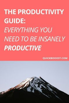 What is productivity, why does it matter, and how can you get started being productive right now? Use this guide to take your productivity to new heights! Productive Things To Do, Things To Do At Home, Things To Do When Bored, Productive Day, Getting Things Done, Things To Come, Time Management Activities, Time Management Printable, Time Management Quotes
