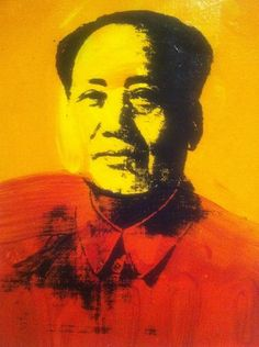 Mao portrait by Andy Warhol gifted to The Metropolitan Museum of Art by Halston in 1983