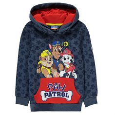 Paw Patrol Girls No Job to Big Hodded Sweatsuit