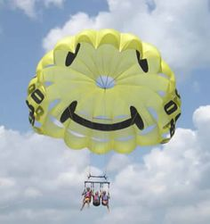3 Parasailers st. Augustine..want to do this on honeymoon...888-300-0812
