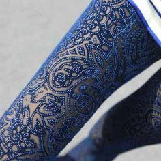 Blue gorgeous legging