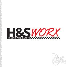 Logo design for Health and Safety Worx, Tauranga, NZ Health And Safety, Page Design, Contrast, Typography, How To Get, Messages, Logos, Unique, Letterpress