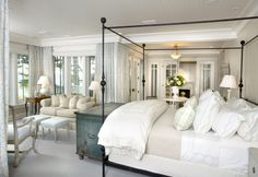Master bedroom suite by Tom Stringer