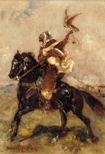 Fauconnier au lancer - (Henri Rousseau)