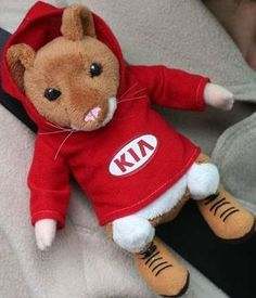 Fasten Your Seat Belt With The Kia Hamster Buddy S Infamous Mascot