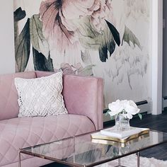 #homedecor #designer #crystals #pink #musthave THAT COUCH!!!!