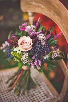 24 purple wedding bouquets 10