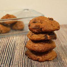 Corculum : Lískooříškové proteinové cookies Cheesecake, Cookies, Food, Crack Crackers, Cheesecakes, Biscuits, Essen, Meals, Cookie Recipes