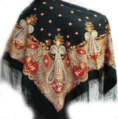Павлопосадские платки, шали