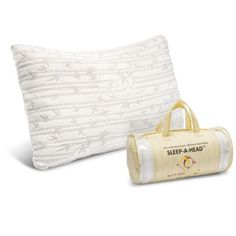 Memory Foam Luxurious Bamboo Gel Pillow by Clara Clark - King & Queen Available - DELAY: Orders placed today will ship out on Tue Pillow Set, Pillow Fight, Soft Pillows, Pillow Inspiration, Memory Foam Mattress Topper, Feather Pillows, Reusable Tote Bags