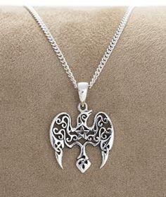 - Mystical Raven Pendant