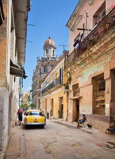 Streets of La Habana II By EsrAli