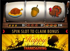 Slotland Casino - Up to 70% Thansgiving Bonuses