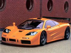 This is THE dream car. It's my favorite car...period. I love this thing. McLaren F1 LM.