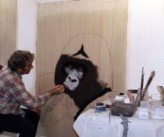 A  l`atelier-gorille-singe