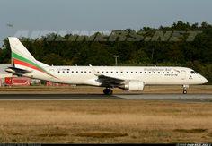Embraer 190AR, Bulgaria Air, LZ-SOF, cn 19000492. Frankfurt, Germany, 6.8.2015.