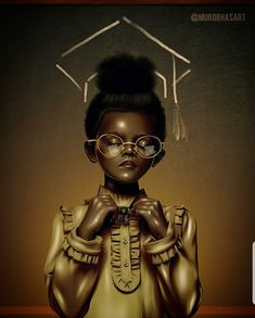 Ambition, Goals, prosperity, and success! Black Love Art, Black Girl Art, Black Girls Rock, Black Girl Magic, African American Art, African Art, Style Afro, Art Afro, Black Art Pictures