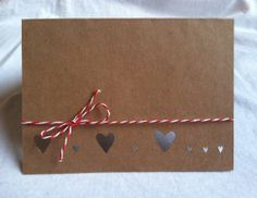 Heartstrings Card by repeteLove on Etsy, $4.00