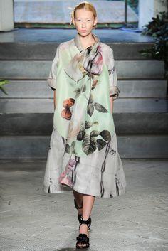 koreanmodel:  Yana Shmaylova at Antonio Marras Spring 2014 MFW
