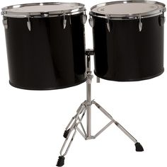 """Sound Percussion Labs Concert Tom Set 16"""" and 18"""" with Stand"""