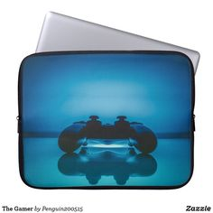 The Gamer Laptop Sleeve Game Controller, Holiday Photos, Business Supplies, Cool Artwork, Laptop Sleeves, Custom Design, Masks, Art Pieces, Cool Stuff