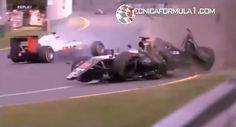 Vídeo | Los 10 golpes más fuertes en la temporada 2016 de los deportes de motor  #F1 #Formula1