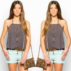 T-shirt to impress!!! #nicoli #nicolimoda #cool #fashion #lomasin #moda #summer #verano #tshirt #camiseta #tendencia #streetstyle #lovely #cute #awesome   http://www.nicoli.es/tienda/Camiseta-nina-tirantes-frunce-antracita.html
