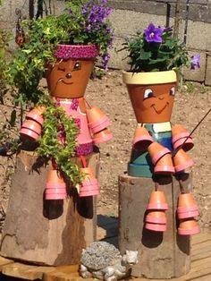 Couple Du Jardin Couple Pots En Terre Pinterest Couple