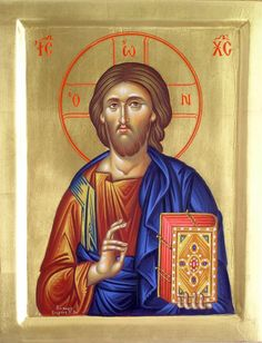 Orthodox Icons of our Lord Jesus Christ. Christ Pantocrator, Images Of Christ, Byzantine Icons, Orthodox Icons, Son Of God, Religious Art, Pictures To Draw, Ikon, Jesus Christ